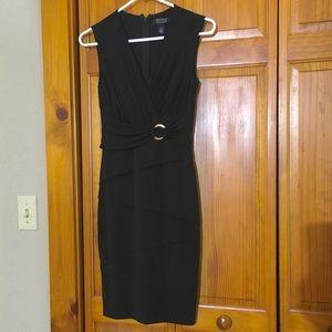 WHBM Tiered Slimming Sleeveless Dress - Size 2